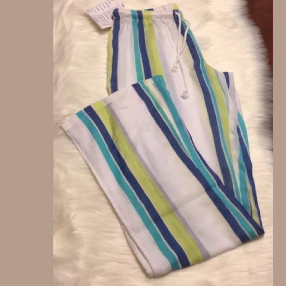16508b6c13 ripcurl Swim | Pants Womens Beach Cover Up White Yellow | Poshmark